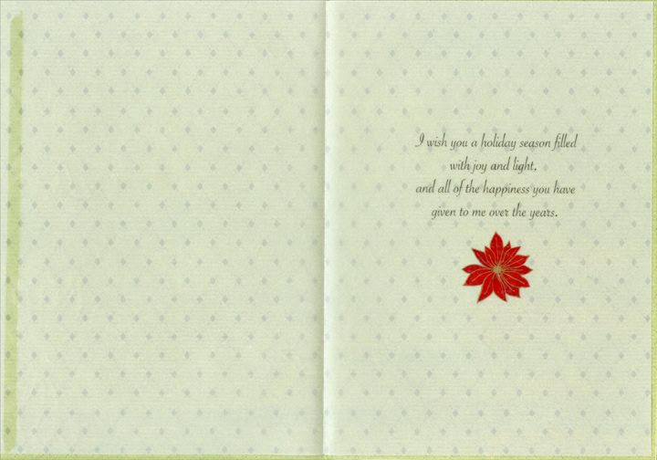 Joy Amp Light Christmas Card By Recycled Paper Greetings