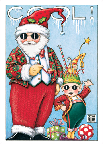 Christmas Dudes Mary Engelbreit Christmas Card By Sunrise