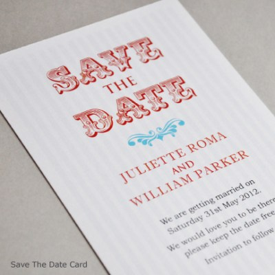 Why send wedding save the date cards?