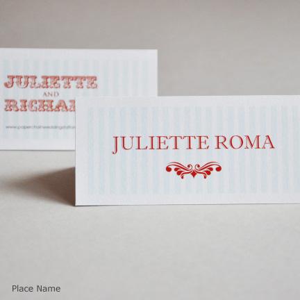 Wedding Stationery Place cards