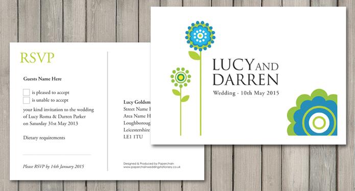 Daisy Wedding Stationery