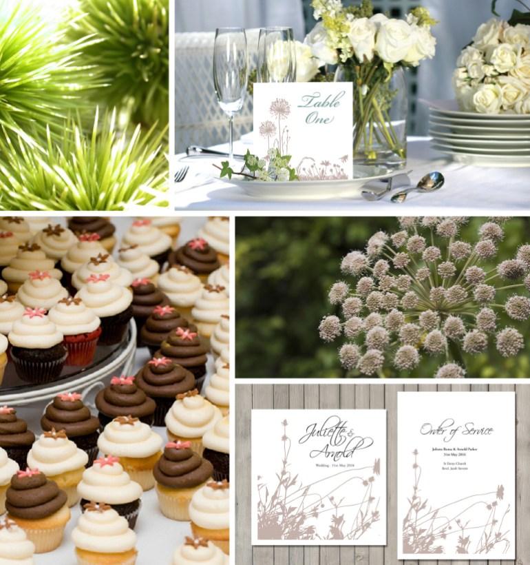 Header for wedding stationery site