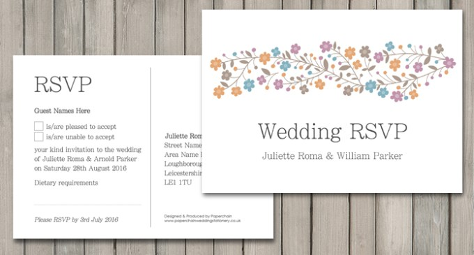 Sparkle wedding Stationery