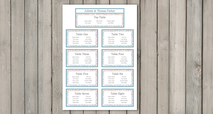 Sparkle wedding Stationery