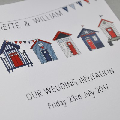 Perfect wedding stationery for a summer wedding