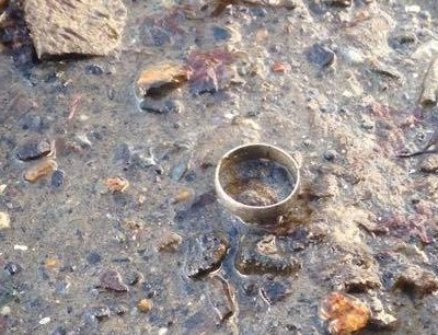 Wedding ring lost and found!