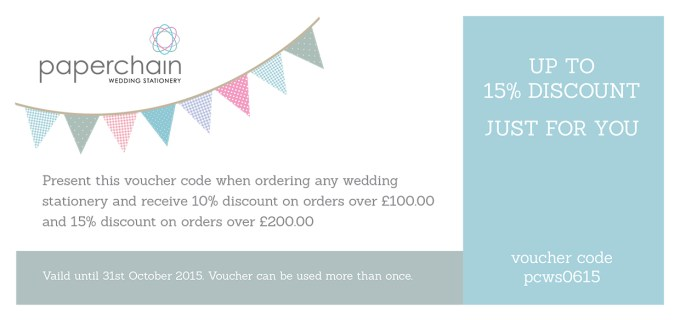 wedding stationery discount