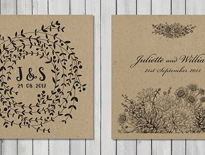 More Eco Friendly Wedding Stationery