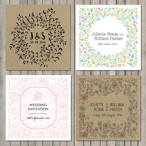 Spring Wedding Stationery 2016 Sm