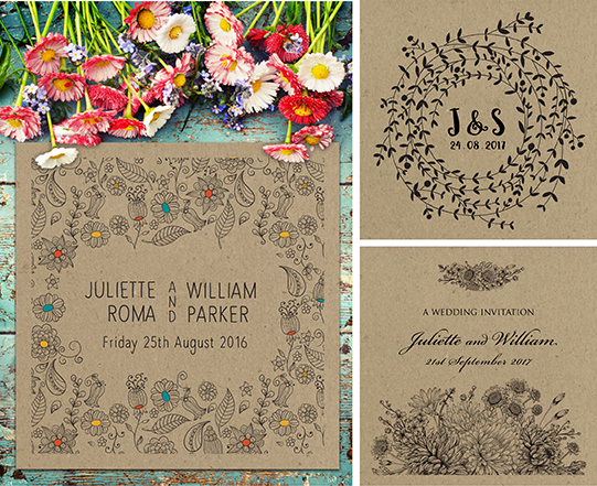 Rustic Wedding Stationery