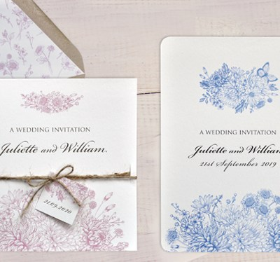 Botanical Garden Wedding Stationery Samples