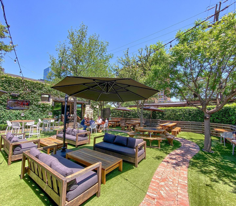 dallas best restaurant and bar patios