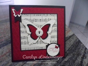 Paper Craft Crew Card Sketch #103 Design Team submission by Carolyn Lindenmayer