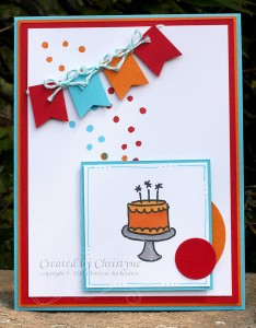 Paper Craft Crew Card Sketch #104 Design Team submission by Christyne