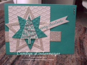 Paper Craft Crew Card Sketch #105 design team submission by Carolyn