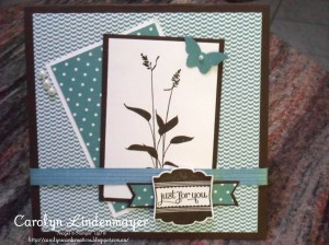 Paper Craft Crew Card Sketch #106 design team submission by Carolyn Lindenmayer