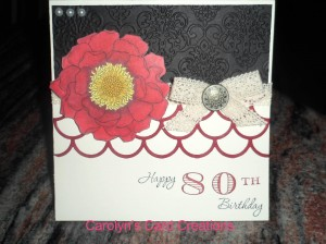 Paper Craft Crew Card Sketch #107 design team submission by Carolyn Lindenmayer