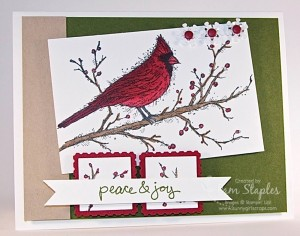 Paper Craft Crew Card Sketch #108 design team submission by Pam Staples. #stampinup #pamstaples #sunnygirlscraps