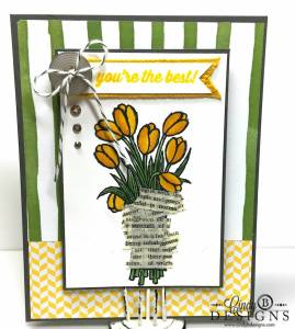 Paper Craft Crew Card Sketch #123 design team submission by Cindy Coutts. #stampinup #cindycoutts