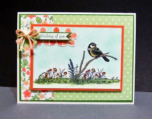 Featured Artisan for the Paper Craft Crew Card Sketch 123