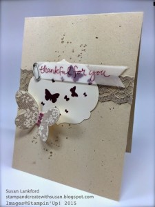 Featured Artisan for the Paper Craft Crew Card sketch 131. #stampinup #papercraftcrew