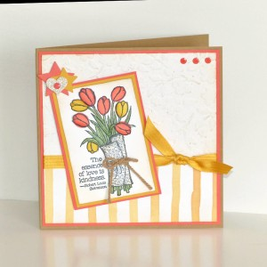 Paper Craft Crew Card Sketch #130 design team submission by Heidi Weaver. #stampinup #papercraftcrew #heidiweaver