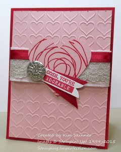 Paper Craft Crew Card Sketch #131 design team submission by Kim Skinner. #stampinup #papercraftcrew #kimskinner