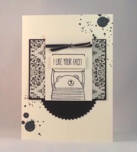 Paper Craft Crew Card Sketch #137 design team submission by Terri Walker. #stampinup #papercraftcrew #terriwalker
