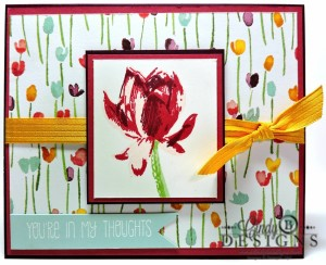 Paper Craft Crew Card Sketch #135 design team submission by Cindy Coutts. #stampinup #cindycoutts
