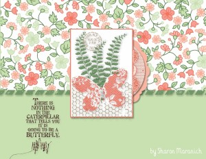 Paper Craft Crew Card Sketch #135 design team submission by Sharon Maranich. #papercraftcrew #stampinup #sharonmaranich