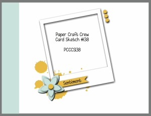 Paper Craft Crew Card Sketch 138 #stampinup #papercraftcrew #papercrafts #cardchallenge