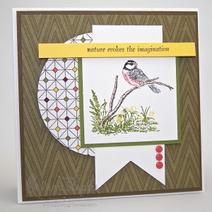 Paper Craft Crew Card Sketch #136 design team submission by Pam Staples. #stampinup #papercrafts #pamstaples #sunnygirlscraps