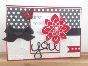 Paper Craft Crew Card Sketch #135 design team submission by Jan McQueen. #stampinup #papercraftcrew #janmcqueen