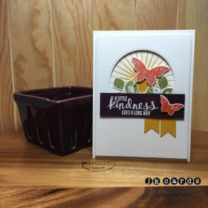Paper Craft Crew Card Sketch #140 design team submission by Justin Krieger. #justinkrieger #papercraftcrew #stampinup
