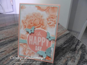 Paper Craft Crew Card Sketch #146 design team submission by Carolyn Lindenmayer. #stamping