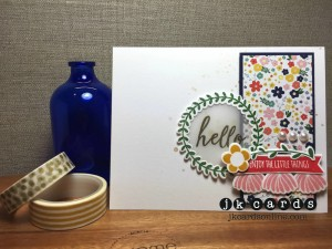 Paper Craft Crew Card Sketch #144 design team submission by Justin Krieger. #justinkrieger #papercraftcrew #stampinup