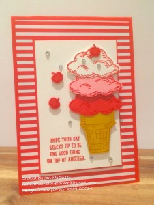 Paper Craft Crew Card Sketch #147 design team submission by Jan McQueen. #stampinup #papercraftcrew #janmcqueen