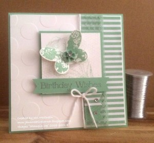 Paper Craft Crew Card Sketch #148 design team submission by Jan McQueen. #stampinup #papercraftcrew #janmcqueen