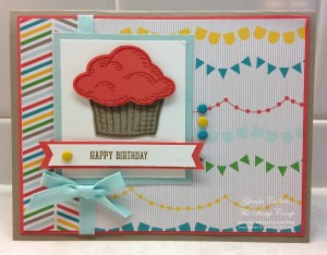 Paper Craft Crew Card Sketch #148 design team submission by Glenda Calkins. #stampinup #papercrafts #glendacalkins