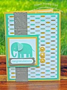 Paper Craft Crew Card Sketch #152 design team submission by Crystal Komara. #stampinup #papercraftcrew #crystalkomara