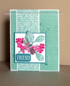 Paper Craft Crew Card Sketch #152 design team submission by Heidi Weaver. #stampinup #papercraftcrew #heidiweaver
