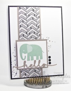 Paper Craft Crew Card Sketch #152 design team submission by Pam Staples. #stampinup #papercrafts #pamstaples #sunnygirlscraps