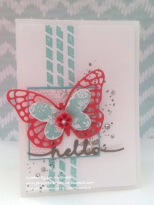 Paper Craft Crew Card Sketch #152 design team submission by Jan McQueen. #stampinup #papercraftcrew #janmcqueen