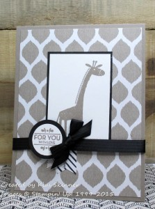 Paper Craft Crew Card Sketch #155 design team submission by Kim Skinner. #stampinup #papercraftcrew #kimskinner