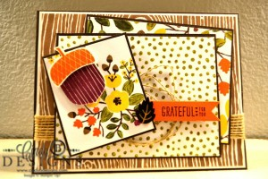 Paper Craft Crew Card Sketch #162 design team submission by Cindy Coutts. #stampinup #cindycoutts