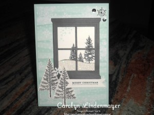 Paper Craft Crew Challenge #165 design team submission by Carolyn Lindenmayer. #stampinup