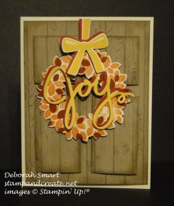 Paper Craft Crew Challenge #167 design team submission by Deb Smart. #stampinup #papercraftcrew #deborahsmart
