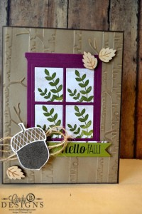 Paper Craft Crew Card Sketch #165 design team submission by Cindy Coutts. #stampinup #cindycoutts