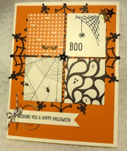 Paper Craft Crew Card Sketch #165 design team submission by Mary Noble. #stampinup #papercrafts #marynoble
