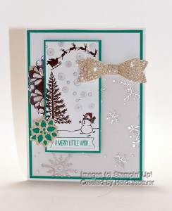 Paper Craft Crew Challenge #169 design team submission by Heidi Weaver. #stampinup #papercraftcrew #heidiweaver